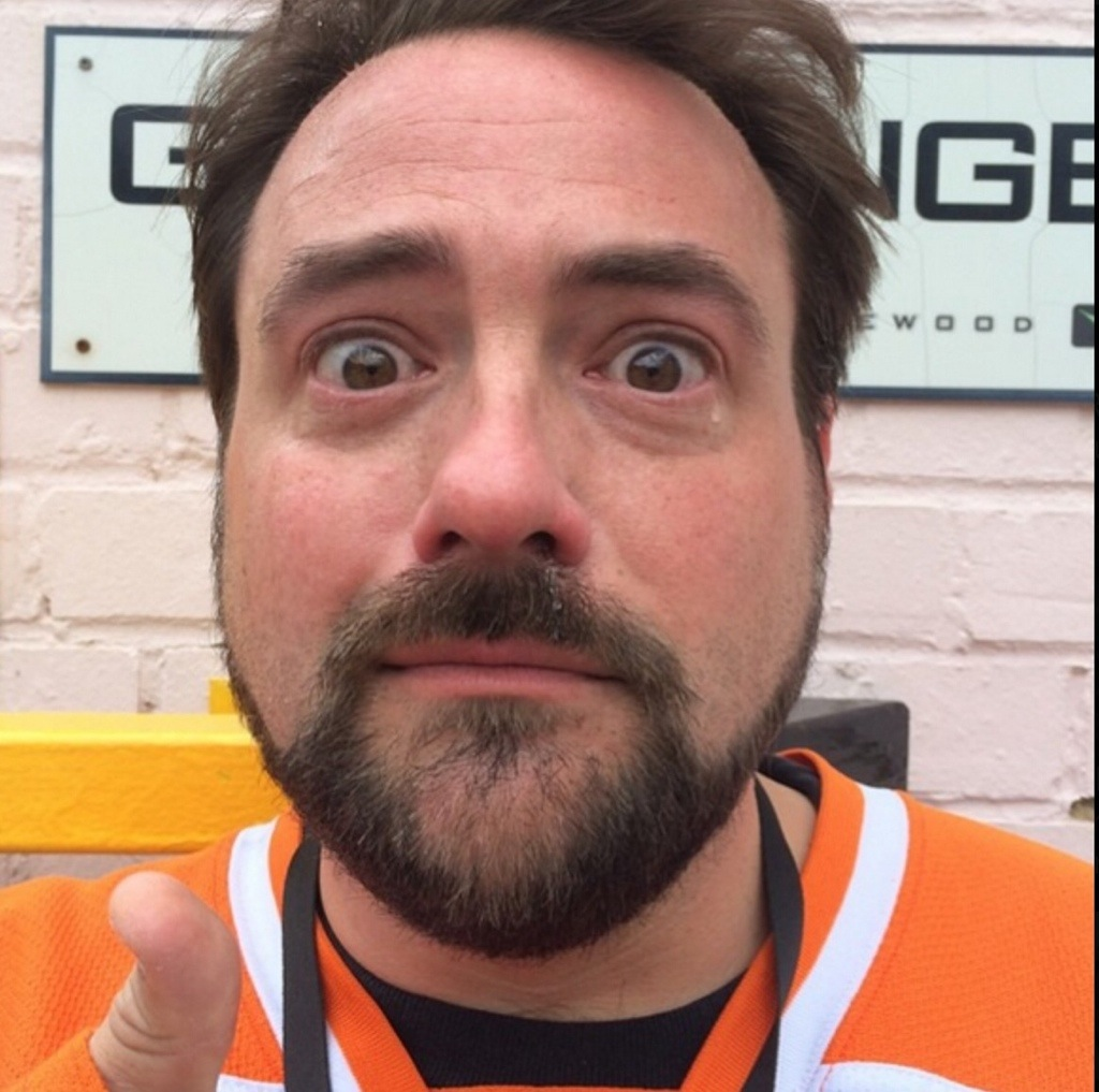 Kevin Smith visits the Star Wars set