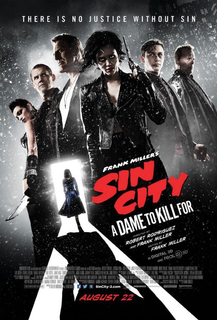 Poster-Sin City:A dame to kill for