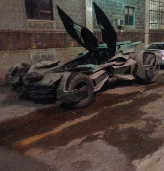 New images of the Batmobile