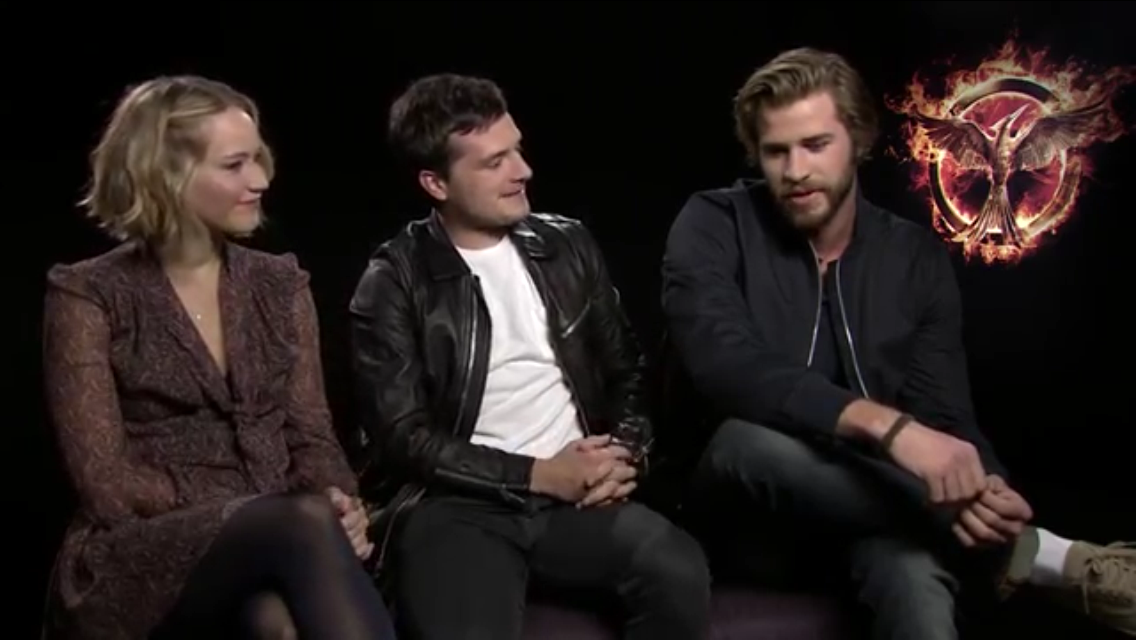 The Hunger Games:Mockingjay-part 1 interview