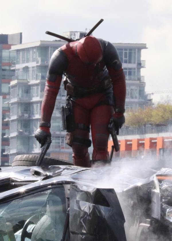 Deadpool set photos