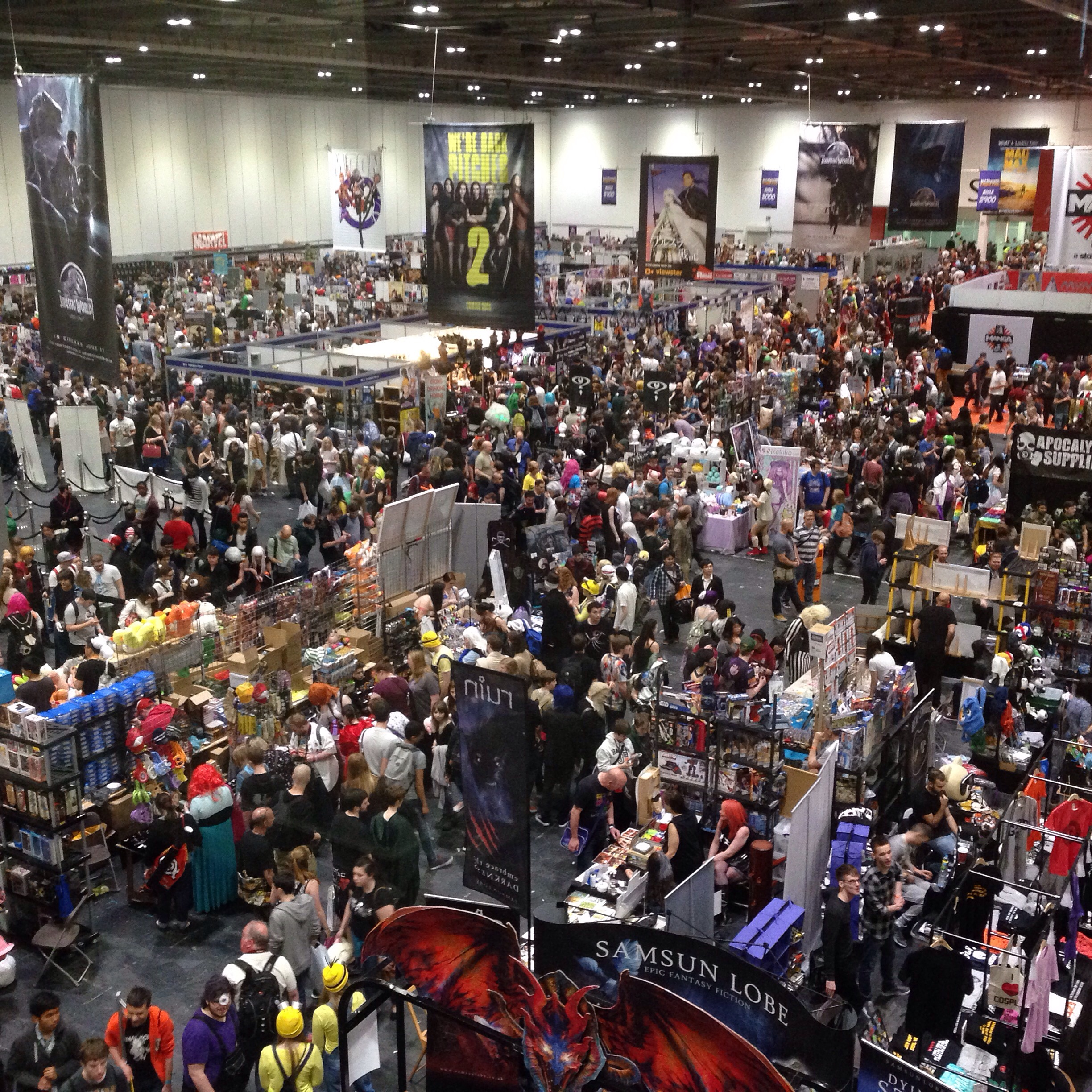 122,634 people attended MCM