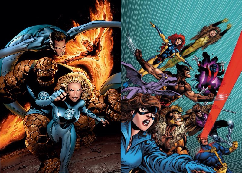 Rumour X-Men/Fantataic Four crossover due in 2018.