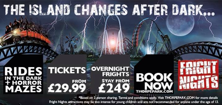 Fright Night's return to Thorpe Park