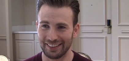 Chris Evans talks about extending his Marvel contract