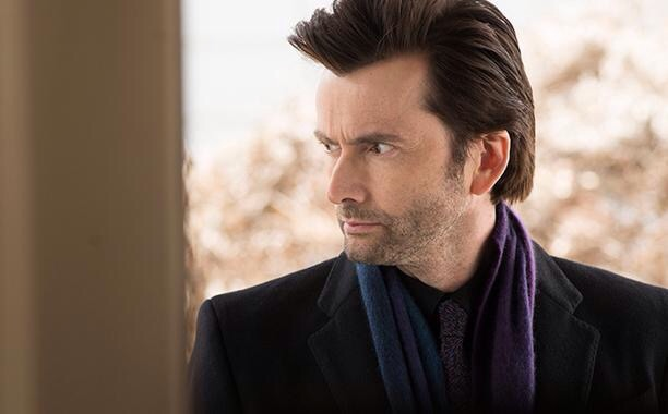 First look at David Tennant as The Purple Man