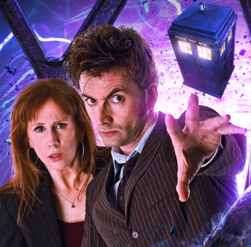 David Tennant and Catherine Tate reprising their roles for Big Finish.