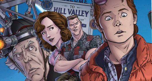 Review-Back to the future issue #1