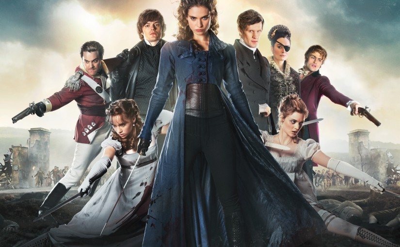 Pride and prejudice and zombies-TV spots