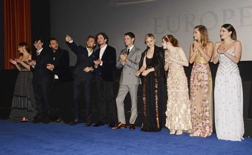 Pride and prejudice and zombies red carpet report