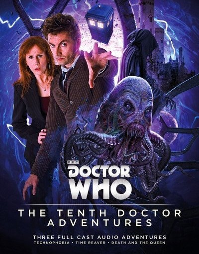 Big Finish reveal artwork for their tenth Doctor range
