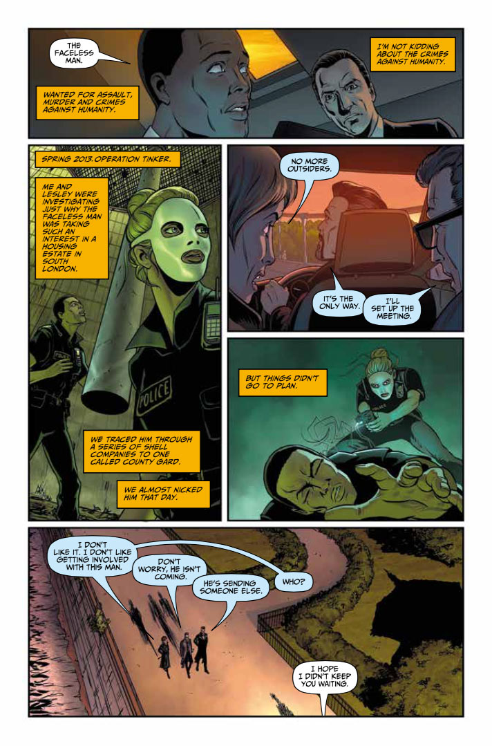 Rivers of London - The Night Witch issue 1, pic 1