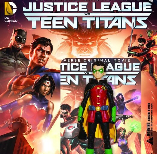 Blu Ray Review-Justice League vs Teen titans