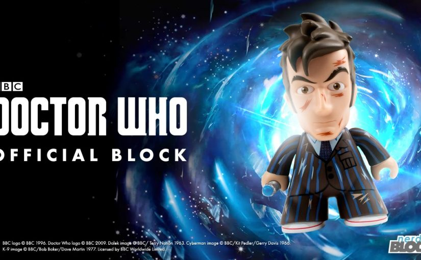 Nerd Block reveals an item from their first Doctor Who block