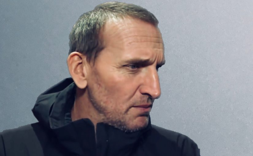 Christopher Eccleston opens up a little more about Doctor Who