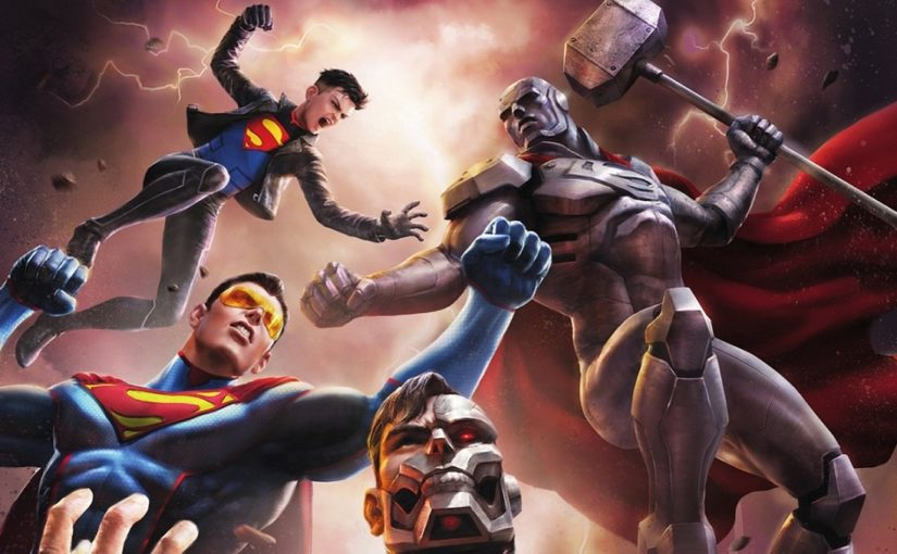 Blu Ray review-Reign of the supermen