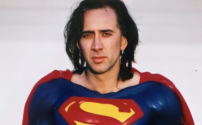 Nicholas Cage rumoured to play Superman in The Flash